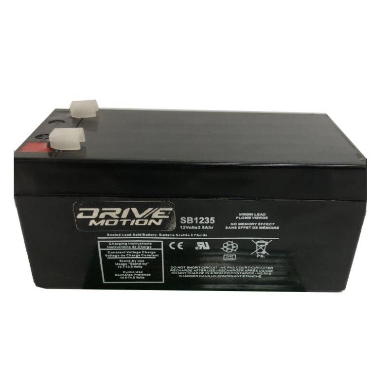 Batteries scellées
