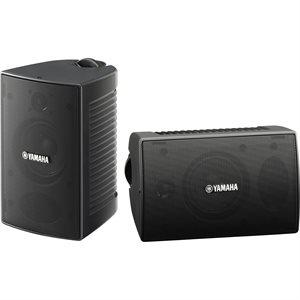 Yamaha NSAW194 Paire de haut-parleurs noirs d'extérieur