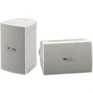 Yamaha NSAW194 Paire de haut-parleurs blanc d'extérieur