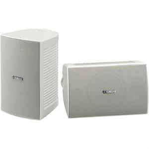 Yamaha NSAW294 Paire de haut-parleurs blanc d'extérieur