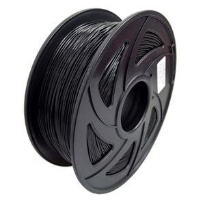 filament TPU d imprimante 3D 1.75mm 1kg noir(03653)