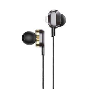 HP Écouteurs Stéréo intra-auriculaire avec contrôle du volum