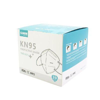 Masque de protection kn95 pfe 95% fda ce ffp2 (905816)