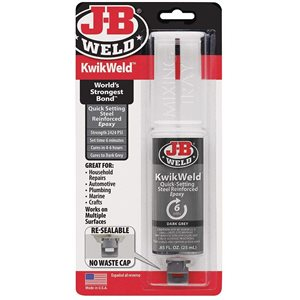 colle epoxy j-b kwik weld seringue